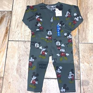 NWT Disney Mickey Mouse Onesie